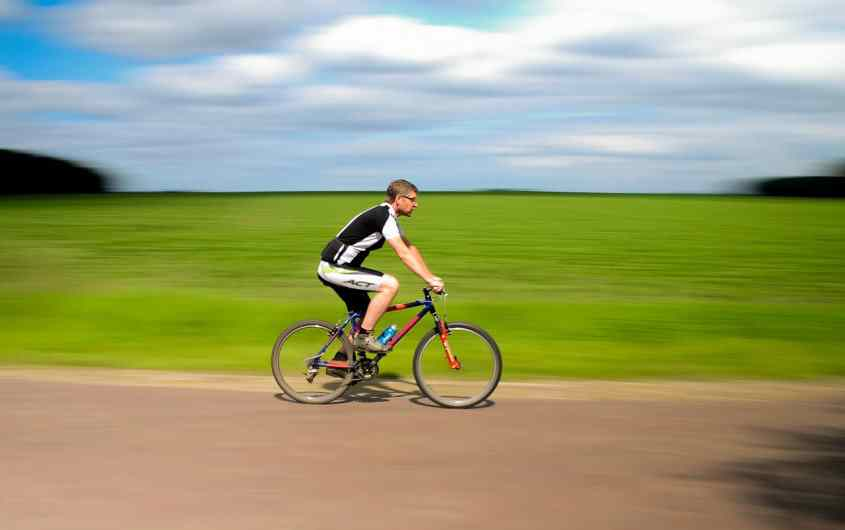 cyclist exercise habits