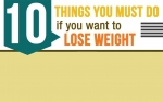 10 things to do to lose weight