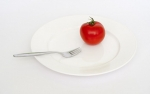 mental side of weight loss tomato plate